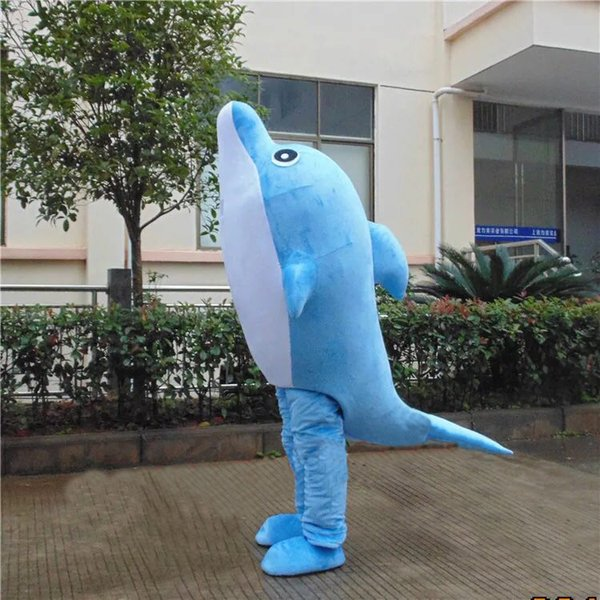 customized mascots Real Pictures funny Marine animal dolphin mascot costume adlut happy fish cartoon character mascots & Customized Mascots Real Pictures Funny Marine Animal Dolphin Mascot ...