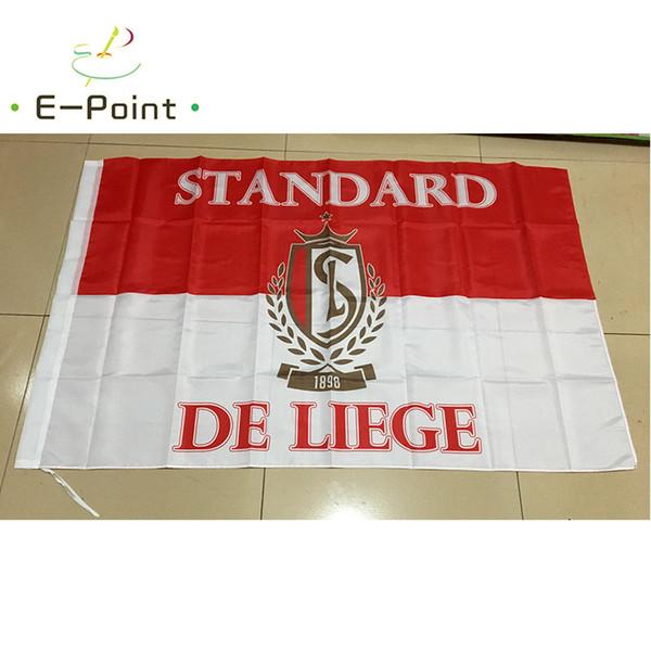 Бельгия стандарт де Льеж 3 * 5 футов (96 см*144 см) полиэстер флаг баннер украшения летающий дом сад флаг праздничные подарки