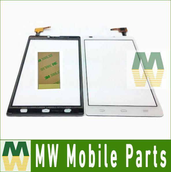 Wholesale- 1piece/ Lot High Quality For ZTE Blade L2 Touch Screen Digitizer Black or Wihte Color With 3M Sticker