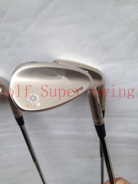 Brand New Champagne Golf Wedges SM 5.0 Golf Clubs Wedge 52/56/60 Degree DHL Free Shipping
