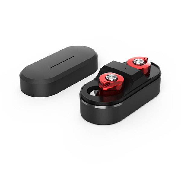 Oreillette Bluetooth TWS T8 Mini oreillette sans fil Stéréo Sport Écouteurs True avec Boîte de Recharge Intelligente