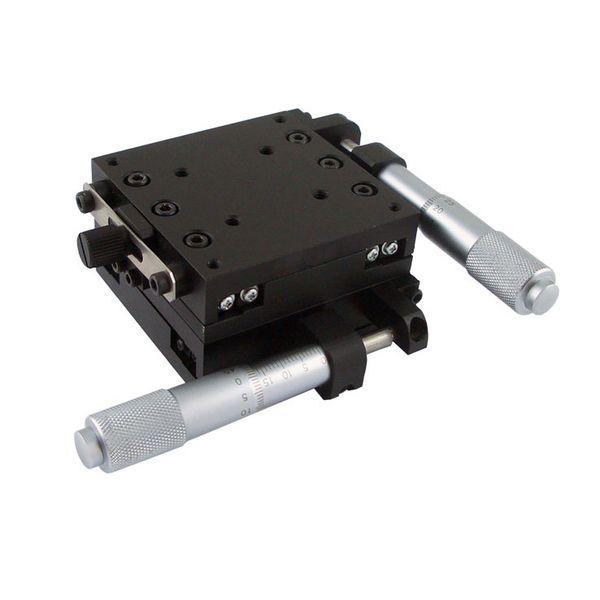 Перемещение оси 25mm PH-211H XY, высокопроизводительный пересеченный этап подшипника ролика линейный, ручной многомерный этап