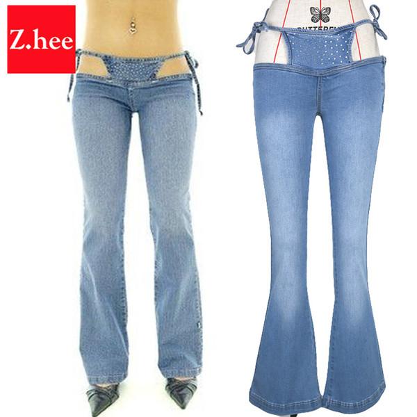 Jeans a vita bassa a vita bassa da donna a vita bassa in jeans a vita larga da donna a fascia larga da donna