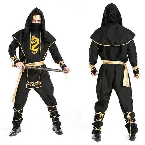 Großhandel Kostüm Ninja Männer Erwachsene Krieger Tuch Rolle Spielen ...