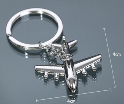 Supporto in lega di zinco Portachiavi nuovo piano portachiavi Mini Aereo Modello anello chiave per gli uomini portachiavi Charms catena chiave Aereo Portachiavi Drop Shipping