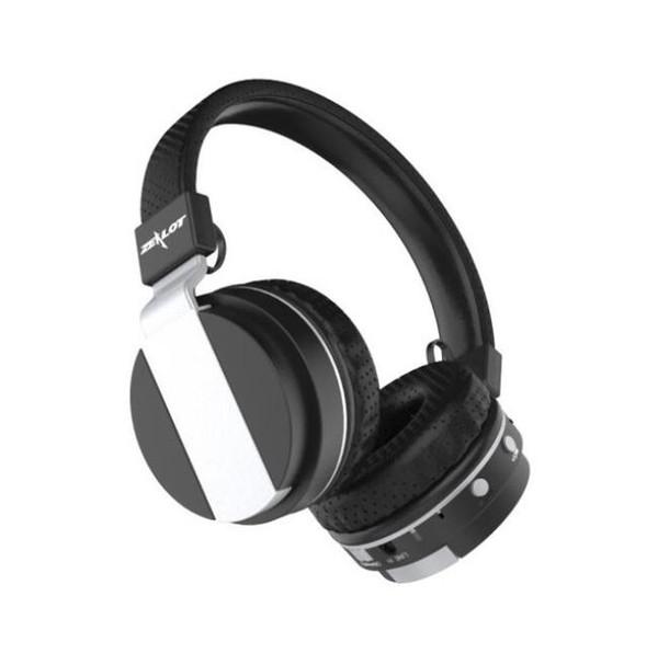 ZEALOT B17 Auriculares Bluetooth Auriculares estéreo inalámbricos súper bajos con cancelación de ruido con micrófono, Radio FM, Ranura para tarjeta TF