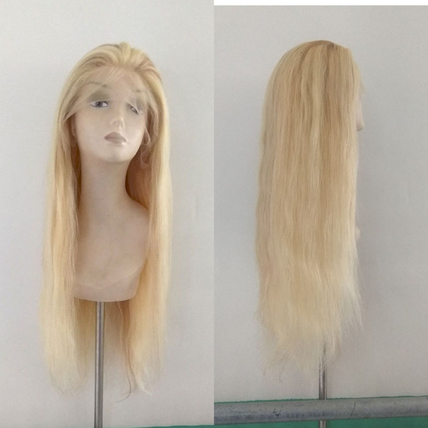 factory price #613/27 highlighted human hair full lace wig Chinese hair 22inch for sale human hair lace front wig
