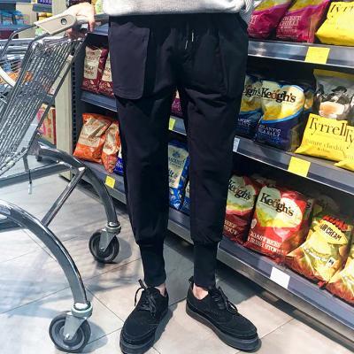 Ücretsiz kargo 2017 Japon erkek rahat pantolon ayaklar üzerine düşmek Metrosexual gevşek pantolon pantolon Haren sonbahar kış turp