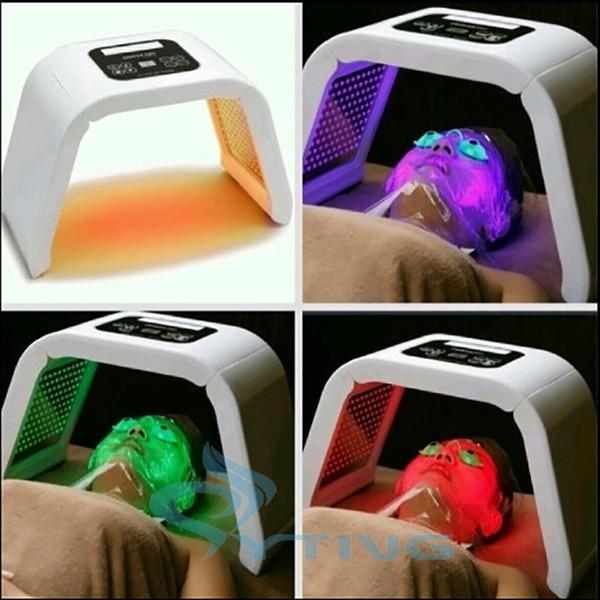 4 farben led lichttherapiegeräte hautverjüngung pdt photon hautpflege ane behandlung hause schönheit gerät