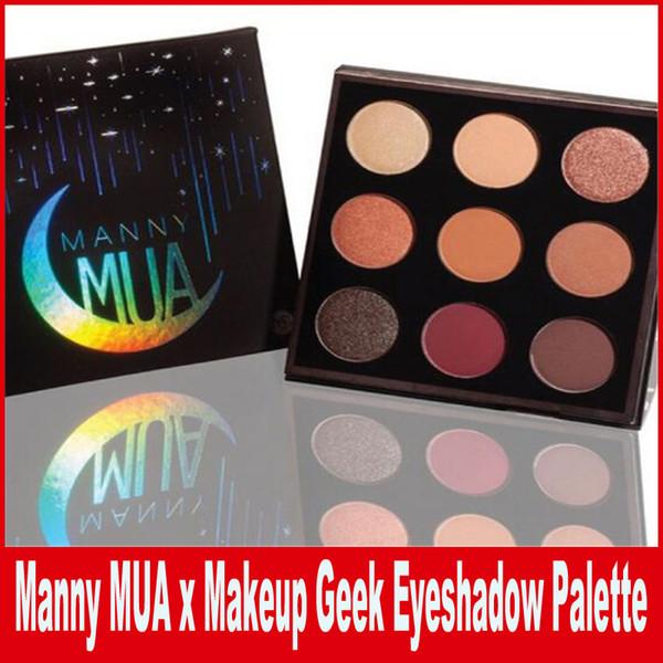 New Arrival Makeup Manny MUA x Makeup Geek Cosmetics Eyeshadow Manny MUA eyeshadow Pressed Powder Kit Palette Long-lasting