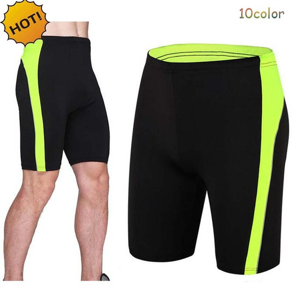High Quality2017 spot running basketball legging Summer Fitness Elastic Tight short Base Layer Skinny Active Bodybuilding Shorts 10 color
