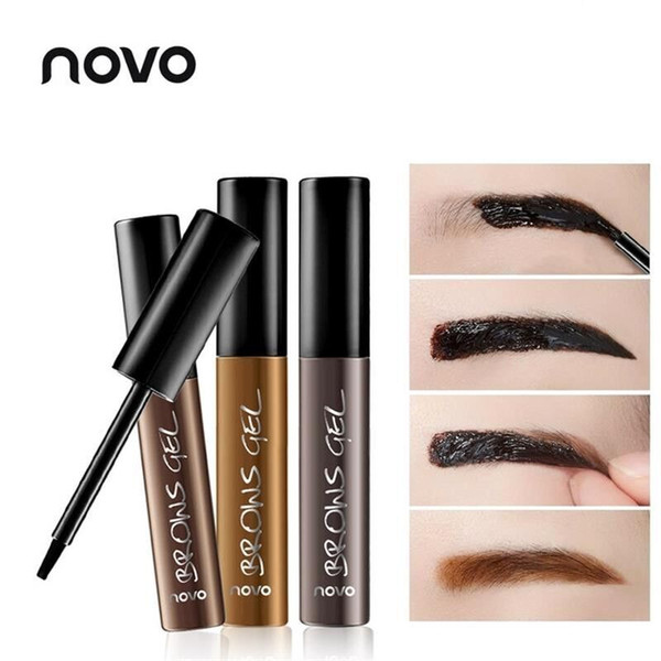 NEW Eye Brow Tattoo Tint Waterproof Long-lasting Peel Off Dye Eyebrow Gel Cream Mascara Make Up Pen Korean Cosmetics NOVO Eye Makeup 12PCS