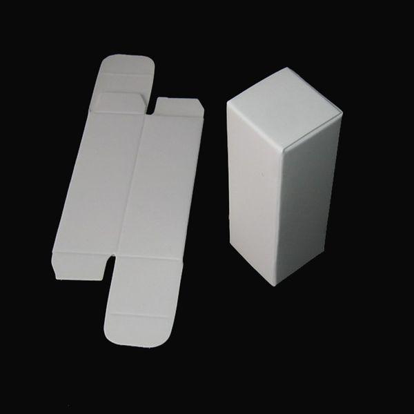 Cinta Aislante 100pcs/lot 2.1x2.1x4.1cm Mini White Kraft Paper Box Diy Lipstick Perfume Essential Oil Bottle Storage Boxes Valve Tube Pack