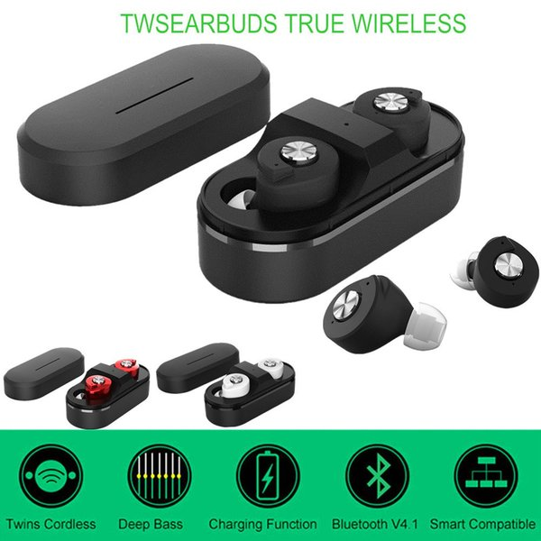 Tws mini T8 Wireless Headphone Bluetooth Earphones Earbud Stereo Headset Auriculares Bluetooth 4.1 Dual Ear For Laptop Mobile iphone samsung