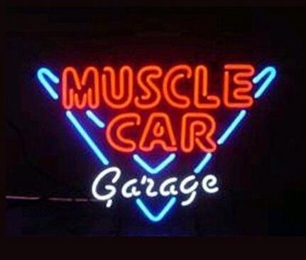 "Car Garage Parking Neon Sign Light Custom Handmade Real Glass Tube Pub Home Bar Motel Hotel Store Display Neon Signs 19""X15"""