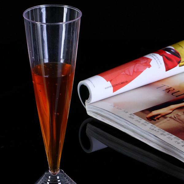 Одноразовые чашки коктейль прозрачный утолщение чашки высокое качество чистой санитарии нетоксичный банкет Tallboy 1hs R