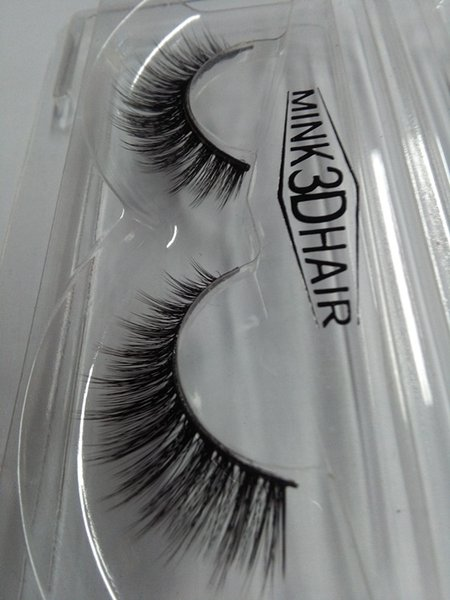 Soft 20 Pairs 3D Eyelash Strips Long Makeup Cross Thick False Eyelashes Nautral Handmade 3D Lashes