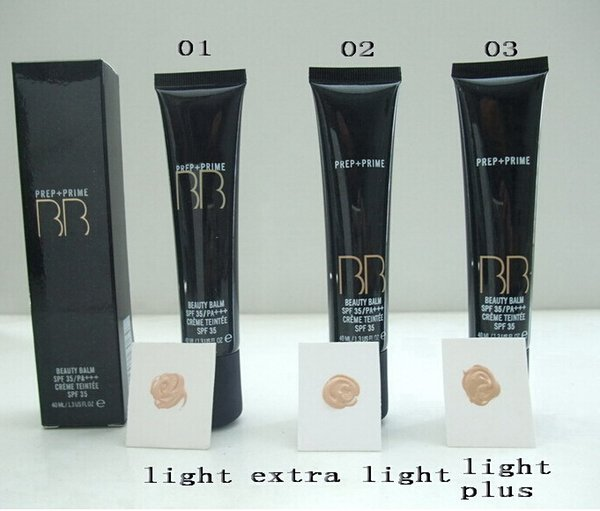 lowest price New HOT makeup PREP + PRIME BEAUTY BALM SPF 35 BB cream 40ML +free shipping DHL