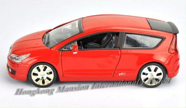 Volvo C30 1:43 Metall Die Cast Modellauto Grau Spielzeug Model Sammlung