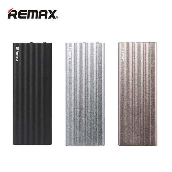 Original Remax 20000 mAh Power Bank Dual USB Fast Charger Output & Input External Backup Portable Battery iPhone Xiaomi Samsung Mobile Phone