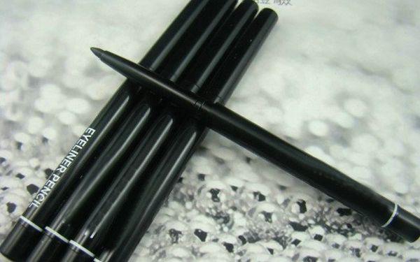 best selling NewPro Makeup Rotary Retractable Black Gel Eyeliner Beauty Pen Pencil EyeLiner 60PCS Lot