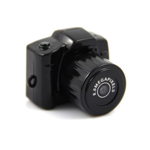 Venta al por mayor-Mini DVR Y3000 1280 * 720 720P 8.0 Mega 30fps HD Micro Grabadora digital Videocámara Pequeña cámara deportiva en miniatura
