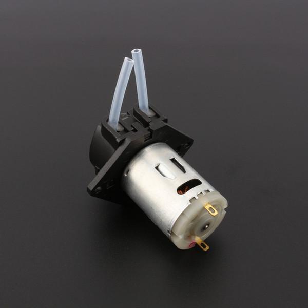 Hot 12 V DC Dosagem Da Bomba Peristáltica Dosagem Cabeça para Aquário Do Laboratório de Água Analítica DIY Nova Chegada