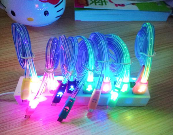 1M Auto Car Interior LED EL Wire Rope Tube Line flexible neon light ...