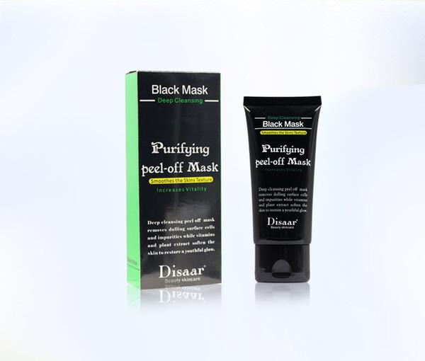 retail DISAAR Peel-off face Masks Deep Cleansing Black MASK 50ML Blackhead Facial Mask Pore Cleaner Dyy daub mask purifying Matte Shills