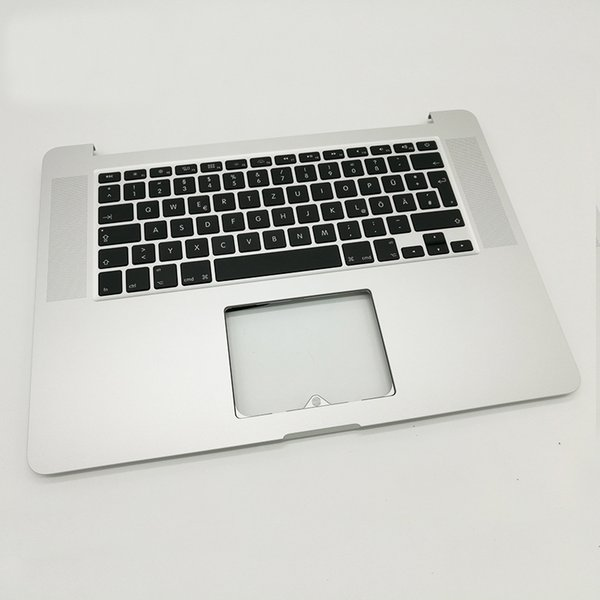 """New Germany Topcase with keyboard For MacBook Pro 15"""" Retina A1398 Palmrest Top case with DE German keyboard 2015 2016"""