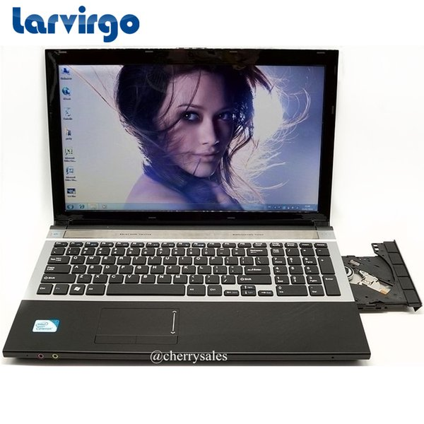 15.6inch Quad Core Fast Surfing Windows 7/8.1 Notebook PC Laptop Computer with DVD ROM for school,office or home