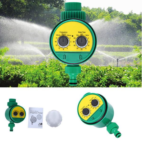 Minuterie d'eau Intelligent électronique électronique LCD intelligent Minuterie d'eau Conception de joint en caoutchouc Robinet magnétique Irrigation Sprinkler Controller + NB