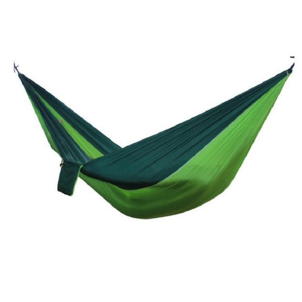 Hot 2 People Portable Parachute Hammock Camping Survival Garden Leisure Hamac Travel Double Person Free Shipping