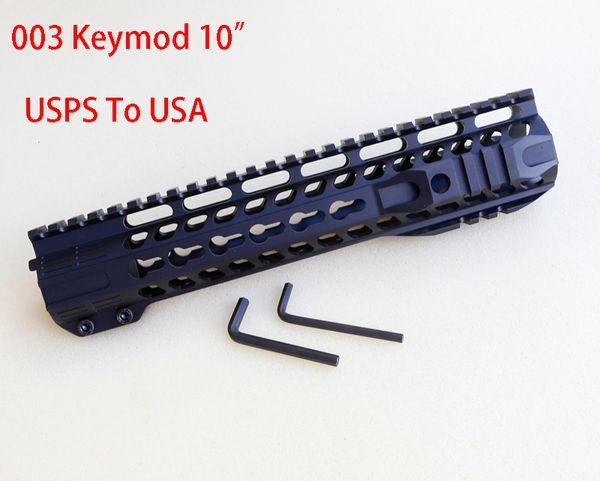 003 Keymod Aluminum Handguard in Black 10