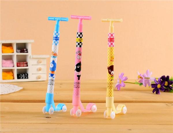 Scooter cartoon cute ballpoint pen pen gift ideas student stationery wholesale Korea
