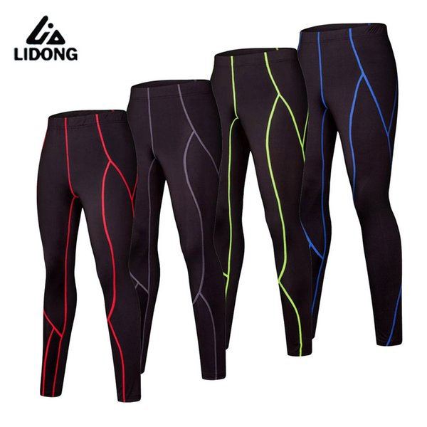 Wholesale- New Kids Compression Running Pants Boys Sports Leggings Child Basketball Football Training Ropa Hombre Trousers Leg Pants Tights