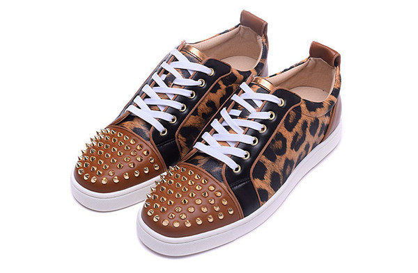Cheap sneakers for men with Spikes suede fashion casual mens shoes men leisure trainer footwear