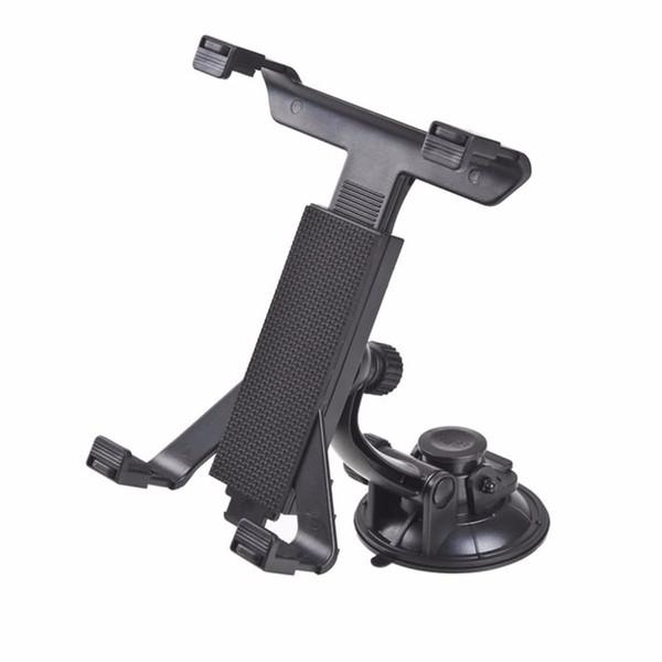 Toptan-Yeni Evrensel PC GPS Araç Cam Arka Koltuk Kafalık Masa Dağı Tablet Tutucu iPad 2/3/4/5 Tablet Standı Siyah Toptan