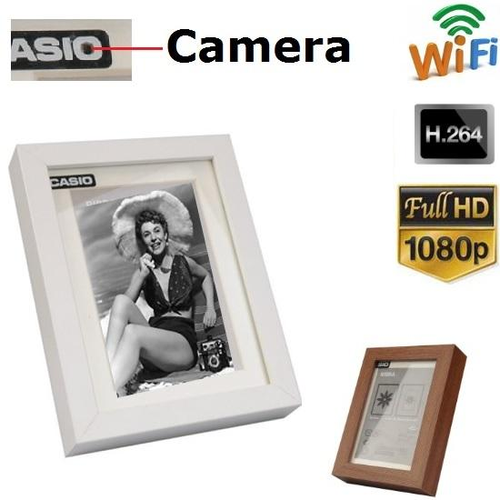 2019 New Arrival Spy Mini Wireless Camera Ip P2p Photo Frame Detctor
