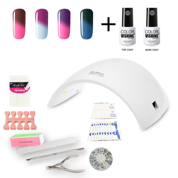 Wholesale Nail Gel Polish Starter Kit Set Sun9c 36w Led Lamp Soak ...