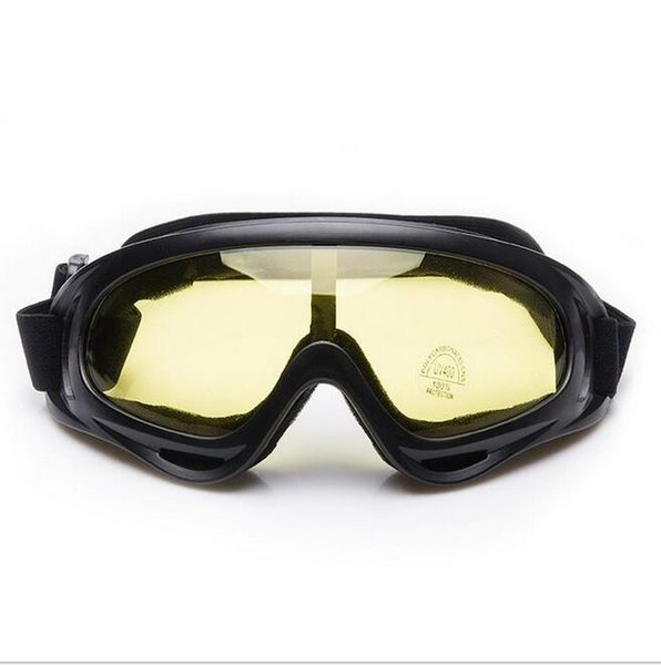 fa9283996146 Bicycle Cycling Goggle Glasses Eyewear Lens Ski Snowboard Skate Goggles  Anti Wind Dust snow sports safety