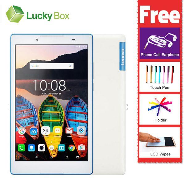Wholesale- 8 inch Lenovo TAB3 850F 850M 2GB RAM 16GB 64bit Dual SIM Dual standby Quad Core 5MP Android 6.0 GPS 4290mAh Super slim Tablet