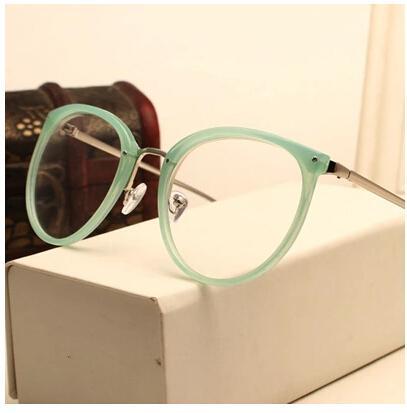 Atacado- decoração do vintage óculos de armação de óculos de miopia redondos de metal das mulheres dos homens unisex espetáculos óculos oculos de grau eyewear