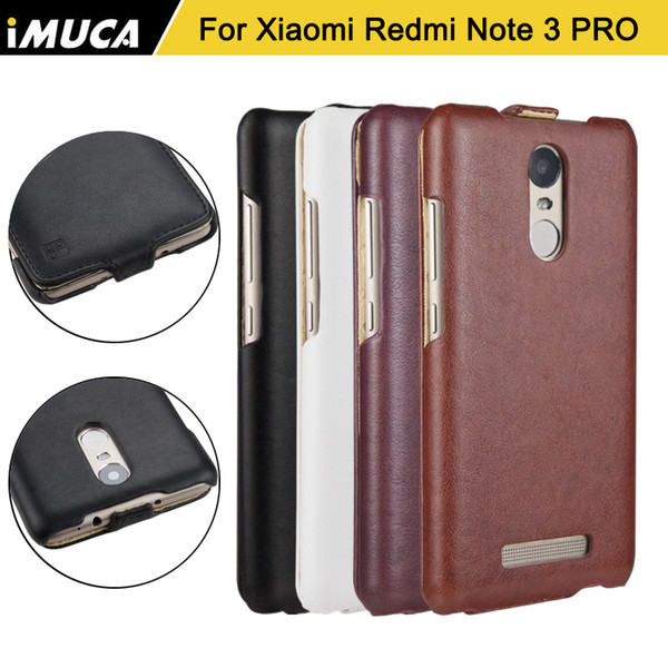Wholesale- Imuca Xiaomi Redmi Note 3 PRO Phone Cases Cover Leather Flip For Xiaom redmi note 3 Samartcase Phone Capa Coque Fundas Carcasa