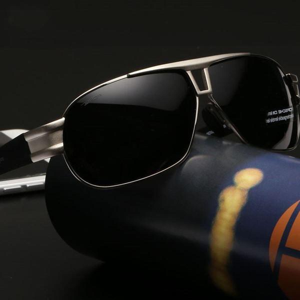Occhiali da sole polarizzati all'ingrosso- Occhiali da vista classici Occhiali maschili UV400 Sport da pesca Equipaggiamento per occhiali specchiati