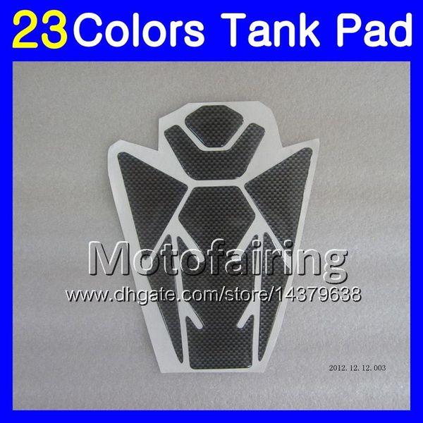 23 Renkler 3D Karbon Fiber Gaz Tank Pad Koruyucu Için SUZUKI GSXR1000 13 14 15 16 GSXR 1000 GSX R1000 K9 2013 2014 2015 16 3D Tankı Kap Sticker