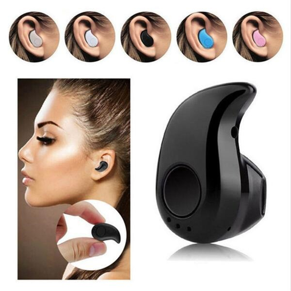 Mini Bluetooth Headphone S530 Wireless Earphone Stereo Stealth Headset Sport Handfree Earbud For iPhone 7 7 plus Samsung With Retail Box