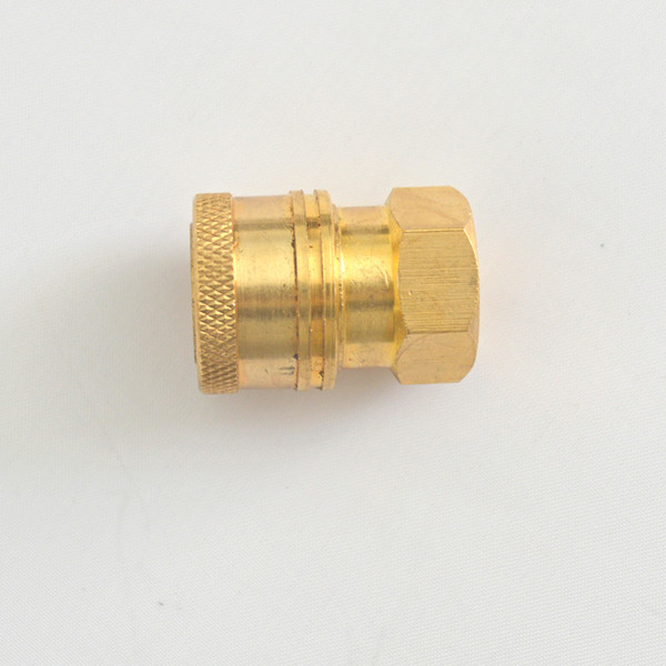 Wholesale- Brass Quick Realease Connector (Ball Coupling) G1/4 for High Pressure Washer Car Washer