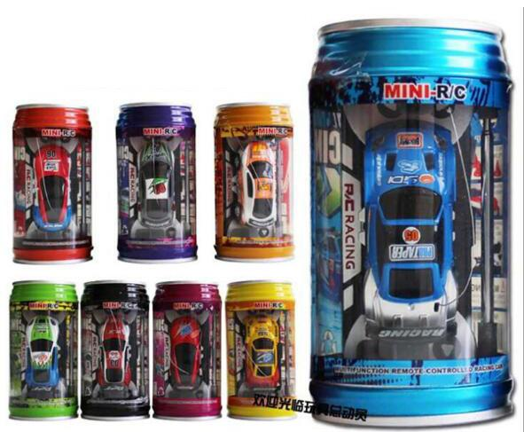 1:63 Mini-Racer Remote Control Car Coke Can Mini Speed RC Radio Remote Control Micro Racing Car Christmas toy gifts for children