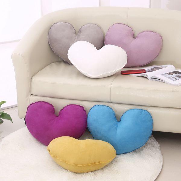 heart shaped pillow sofa cushions cushion covers with pillow core 50 rh m dhgate com